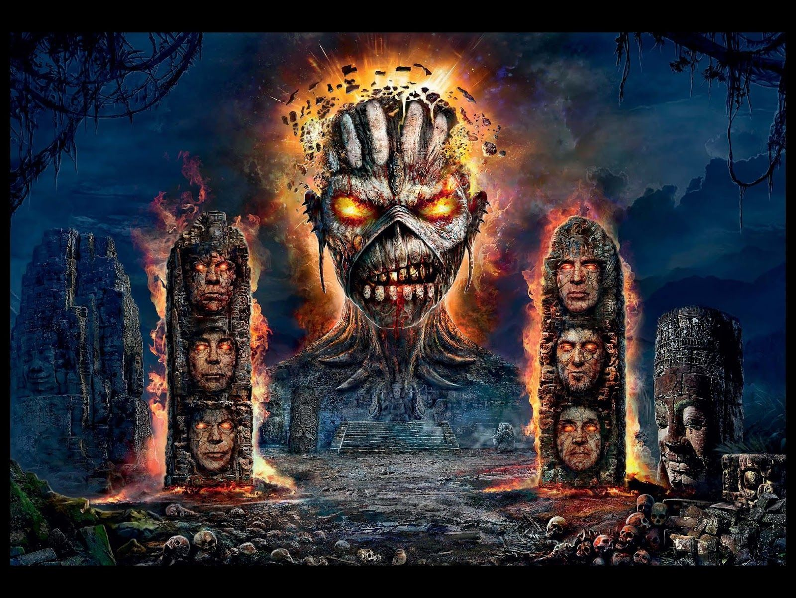 Iron Maiden The Book Of Souls Wallpaper Iron Maiden