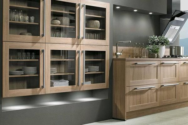 mod le de cuisine quip e sur mesure de style rustique propos par l 39 artisan cuisiniste. Black Bedroom Furniture Sets. Home Design Ideas