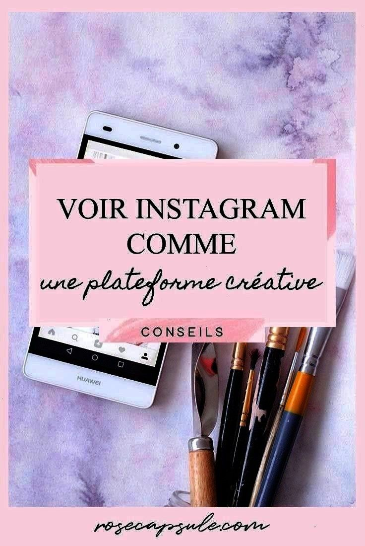 Rose Capsule Voir Instagram comme une plateforme créative Voir Instagram comme une plateforme créative  three purposes pour améliorer ton feed Insta...
