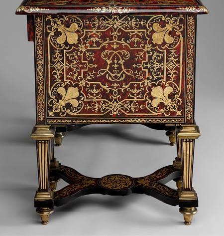 Bureau brisé, vers 1685, Alexandre-Jean Oppenordt (1639–1715), Jean ...