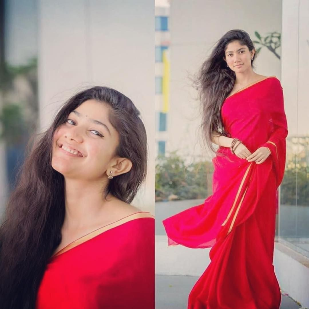 Nail Your Party Wear Look With Red Saree & Gold Blouse • Keep Me Stylish   Party wear sarees, Gold blouse, Red saree