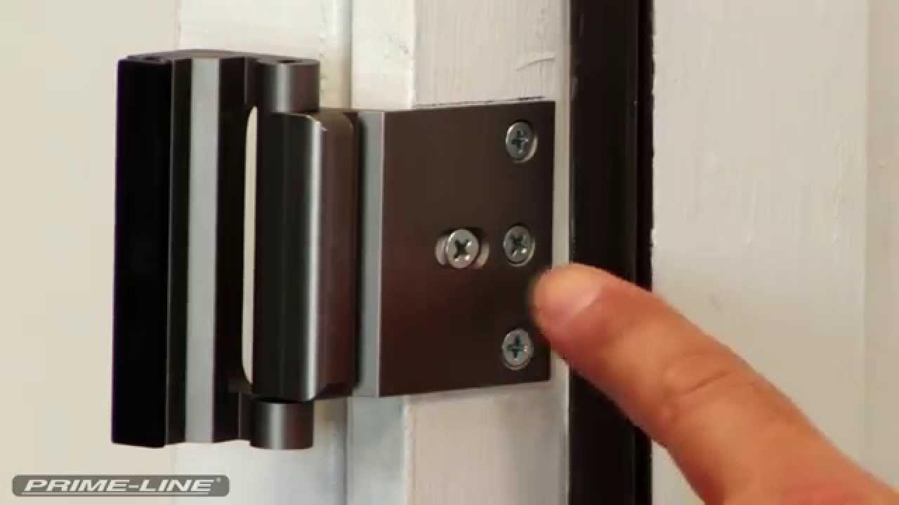 How To Install Prime Line S High Security Door Lock Door Lock Security Door Security Devices Security Locks