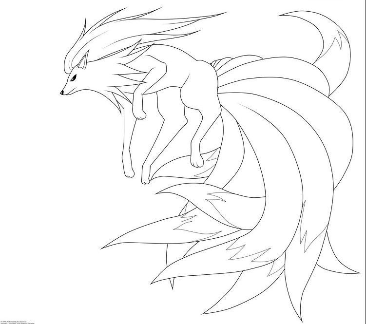 Pokemon Coloring Pages Ninetails E1508366905890 Pokemon Coloring Pages Horse Coloring Pages Moon Coloring Pages