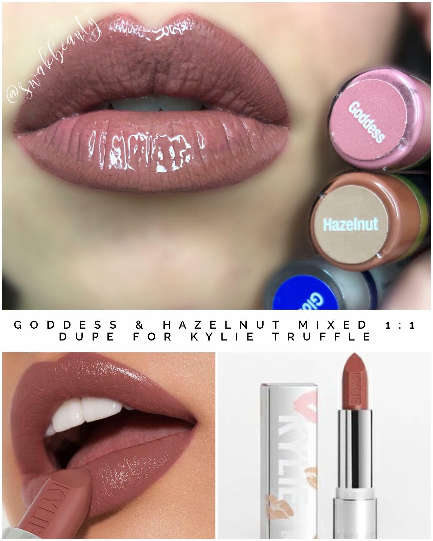 LipSense Combo To Make Kylie Jenner Dupe TRUFFLE Lipstick
