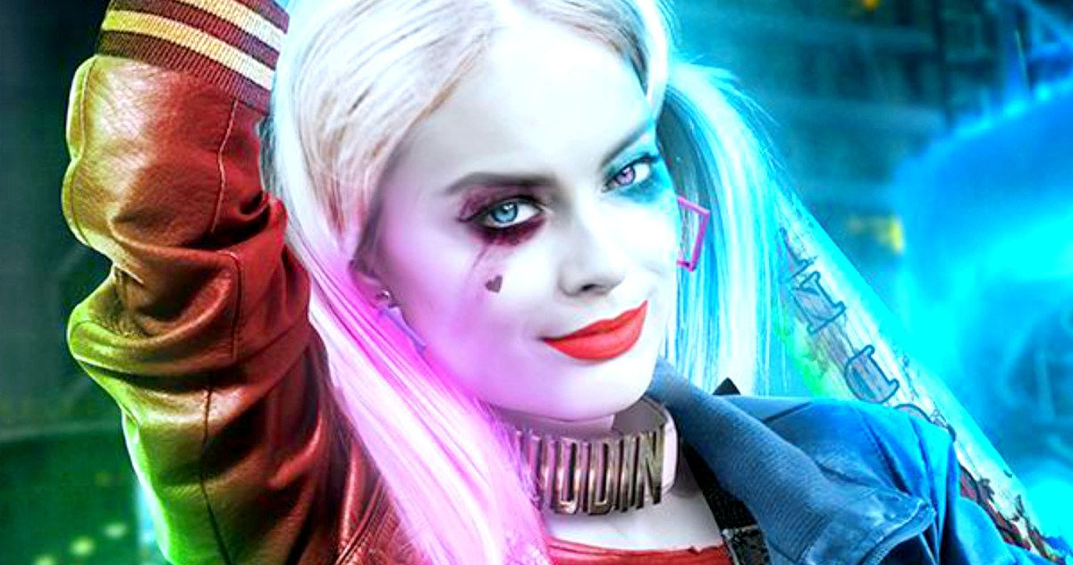 'Suicide Squad' Fan Art Better Than Real Harley Quinn? -- A new fan created 'Suicide Squad' poster makes Margot Robbie's Harley Quinn look pretty cool, but is this the villain fans want? -- http://movieweb.com/suicide-squad-fan-art-harley-quinn-margot-robbie/