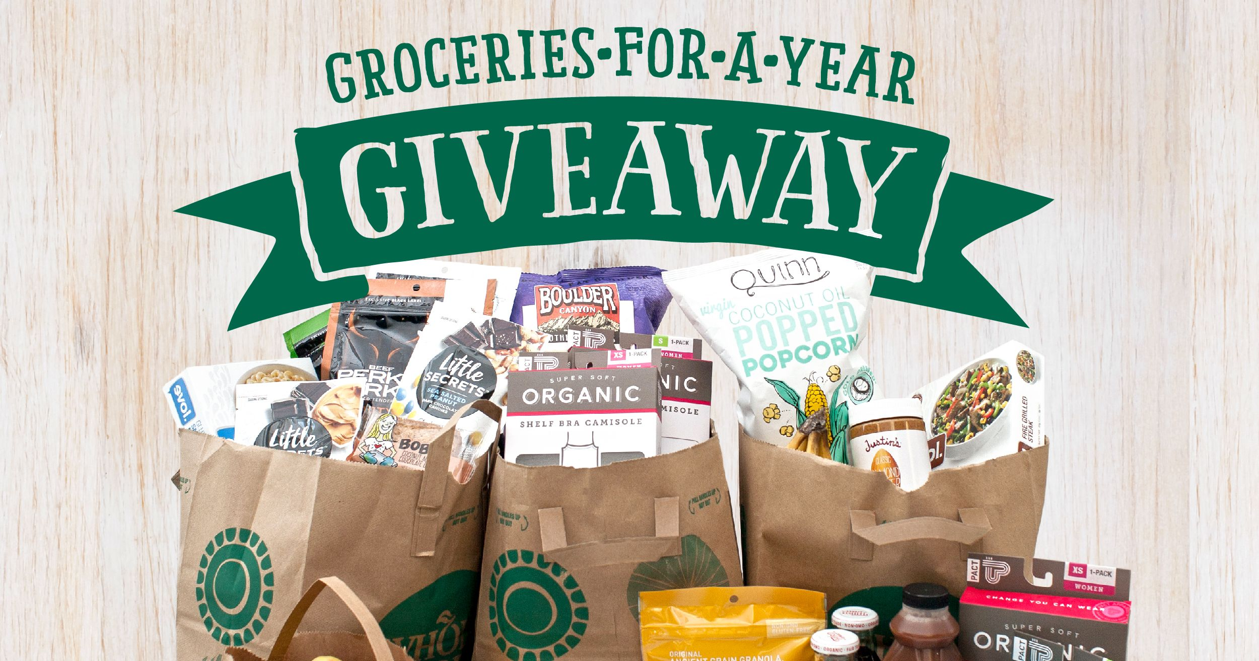 Win free groceries 2018