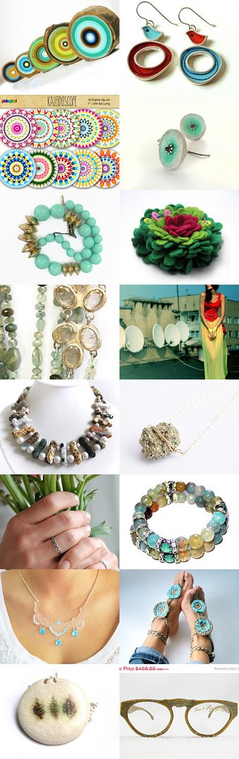 Palette of colors... by Edna Piorko on Etsy--Pinned with TreasuryPin.com