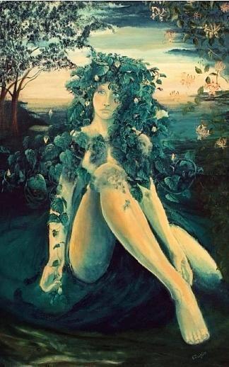 Gaea - Pamela Claire Philips | Paintings | Mythology ...