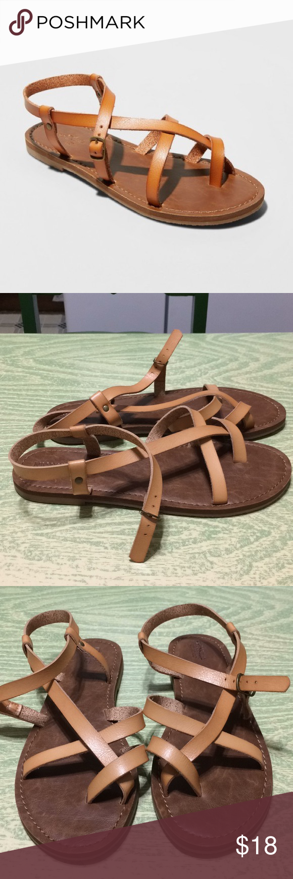 74b5d5560dba Women s Lavinia Toe Wrap Thong Sandal New Mossimo Sandals in a size 8.5.  Universal