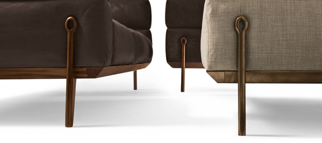 made in Italy Ago sofa, project by Carlo