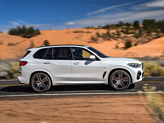 Кроссовер BMW X5 2019 / БМВ Х5 2019 – вид сбоку | Bmw x5 ...