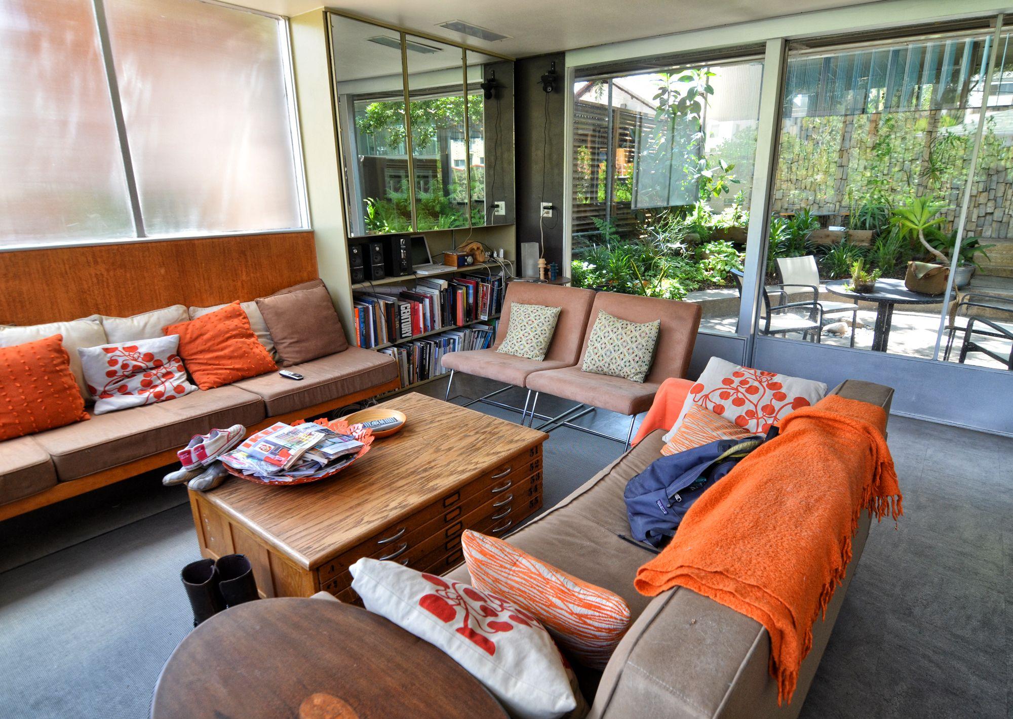 A look inside the neutra vdl house living room ideas apartment