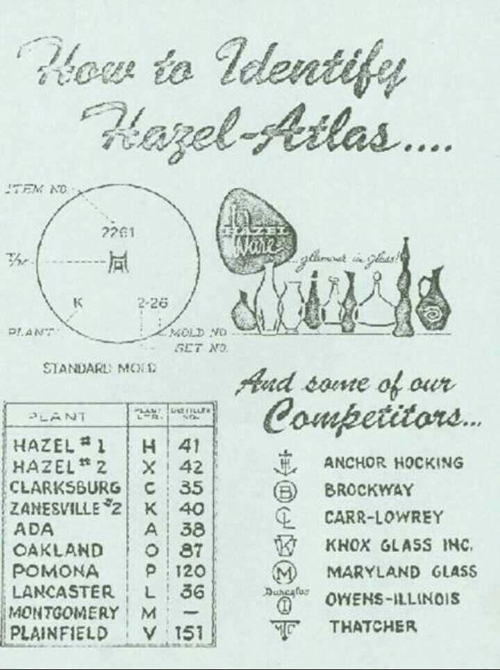 hazel atlas marks