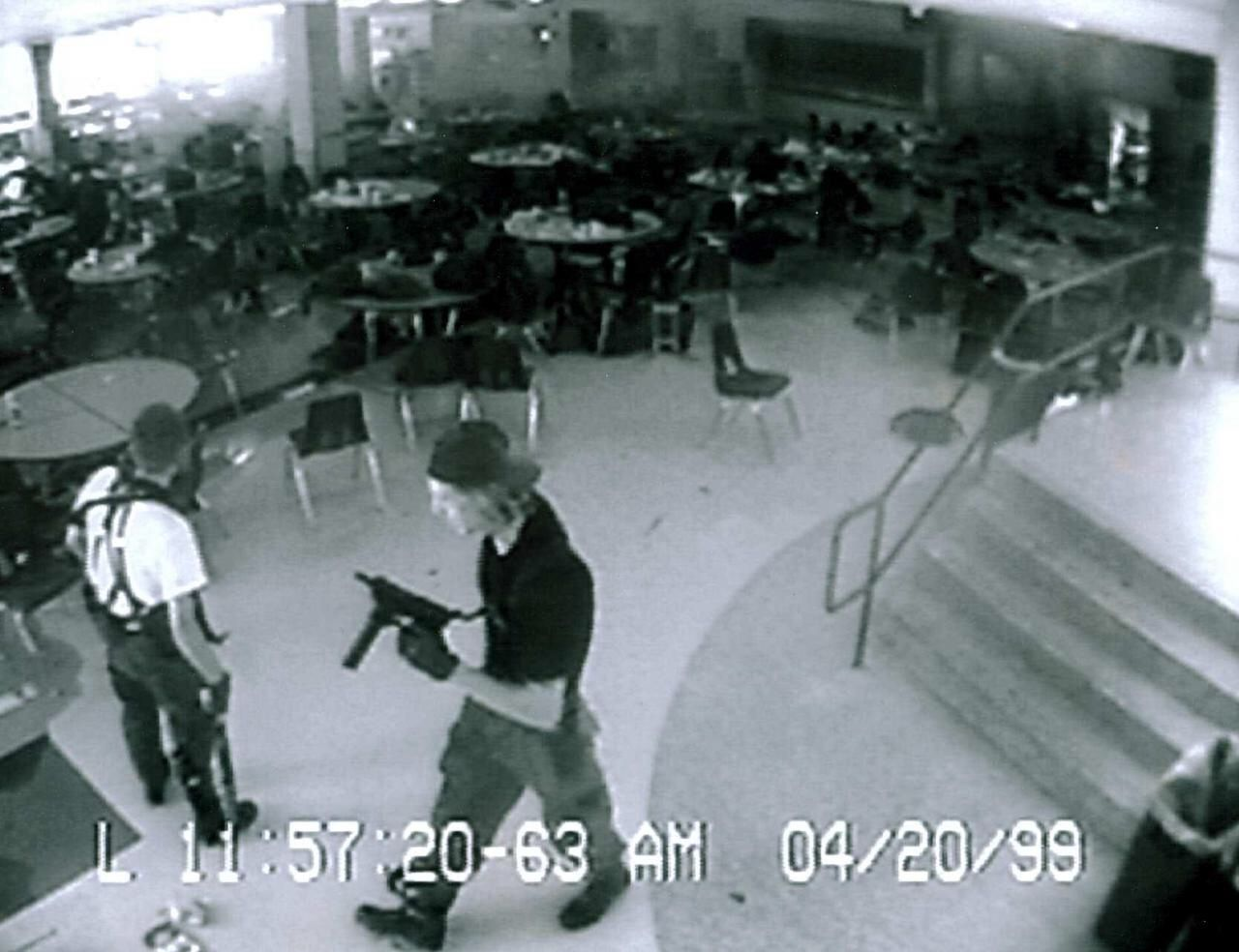 Columbine High School Shooting Cctv Footage