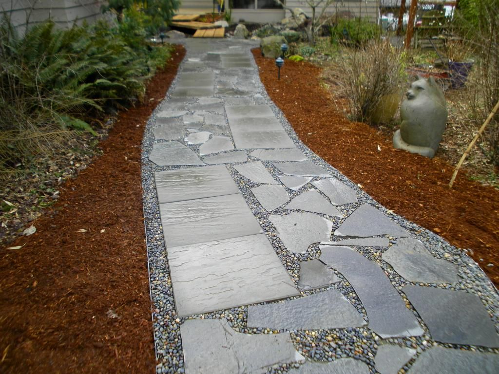 Slate Walkways | Slate Patio, Walkways, Flagstone Contractor, Flagstone,  Steps .