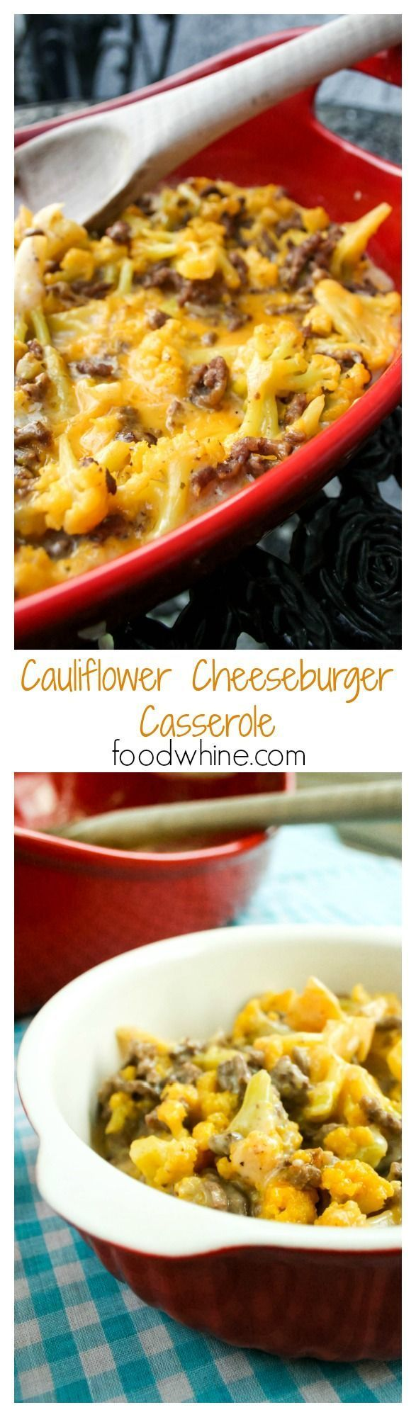 Cheeseburger Casserole Cauliflower Cheeseburger Casserole** I used seasoned flank steak instead of hamburger meat**Cauliflower Cheeseburger Casserole** I used seasoned flank steak instead of hamburger meat**