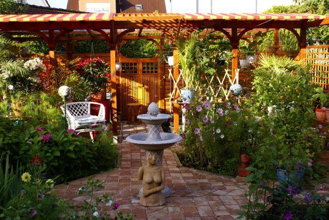 mediterraner patio-garten 2014 - mediterranean patio-garden 2014, Best garten ideen