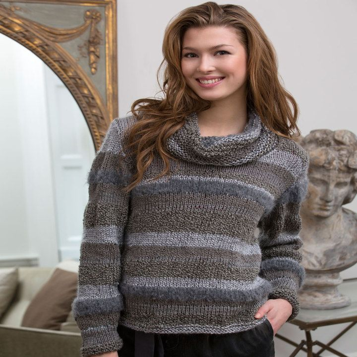 Cowl Neck Sweater patterns | Cowl neck, Yarns and Patterns