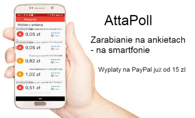 Attapoll Zarabianie Na Ankietach Dzieki Aplikacji Mobilnej In 2021
