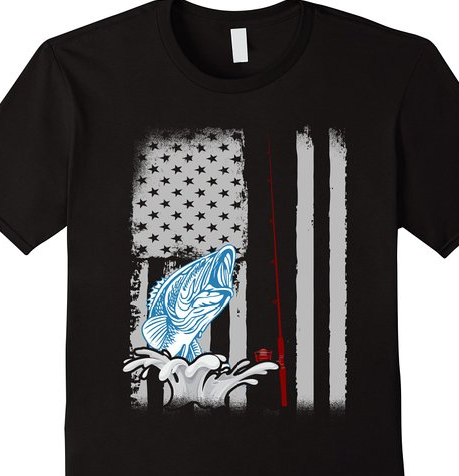 fa9171c52 Click the shirt to purchase. Eat Sleep Fish Fishing T-shirt With American Flag  fishing t shirts,bass fishing shirts,fishing shirt,fishing shirts for men  ...
