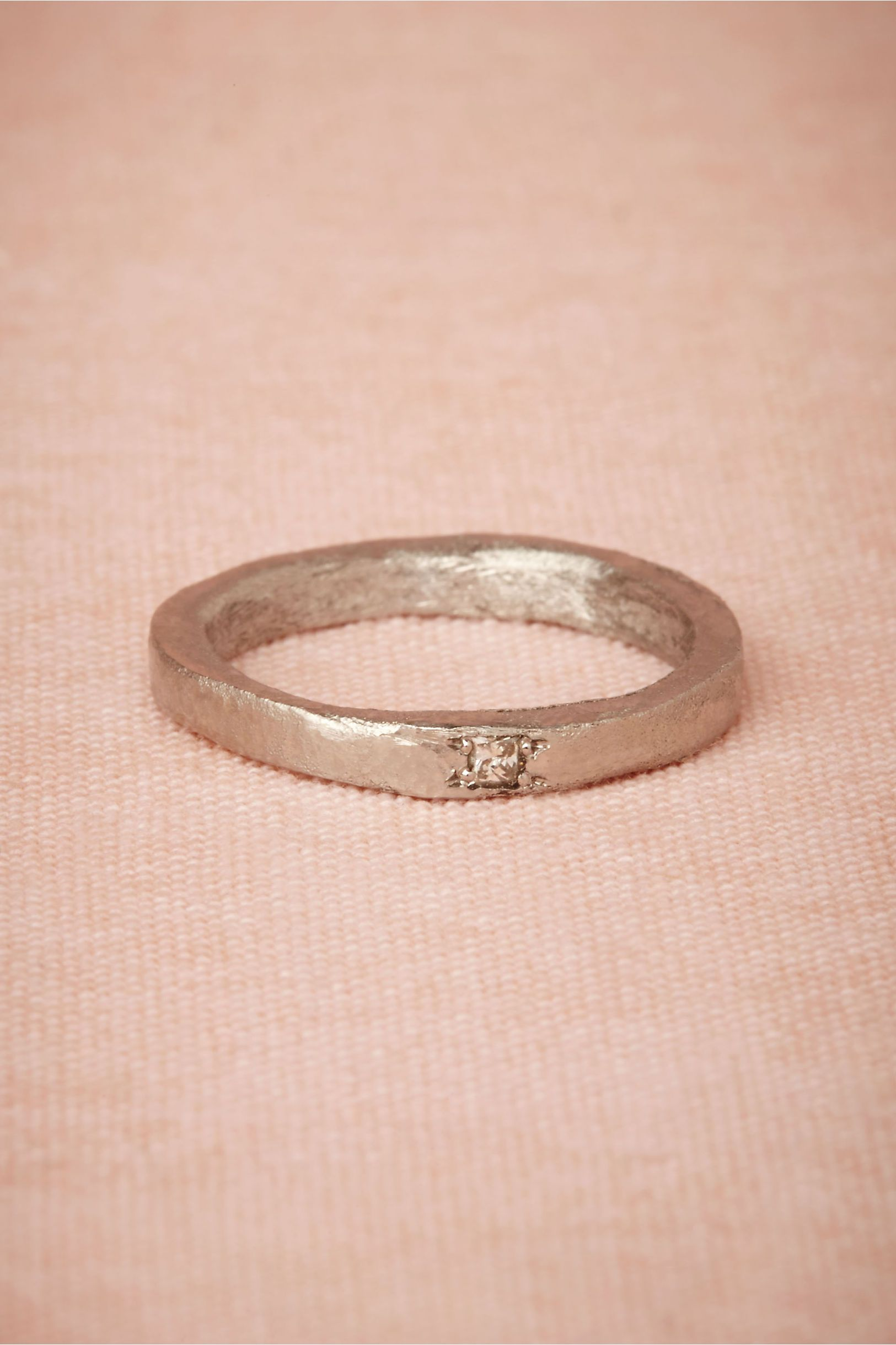 Carina Ring from BHLDN | Designer: Esther Assouline Princess-cut ...