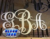 Olson Plasma Cutting CNC System can improve your existing gate by adding a beautiful plasma cut design over the top of your old boring gates. #olsoniron