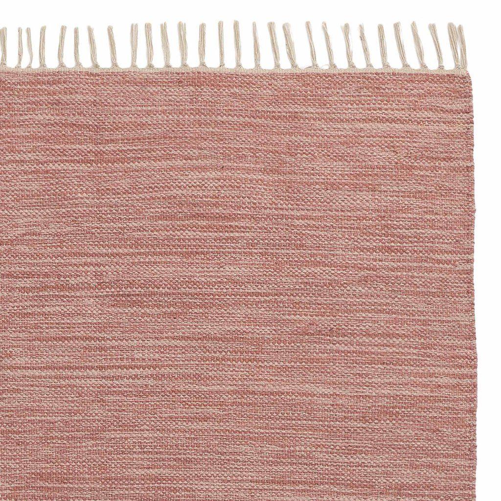 Laufer Akora Altrosa Melange 70x180 Cm Teppich Altrosa