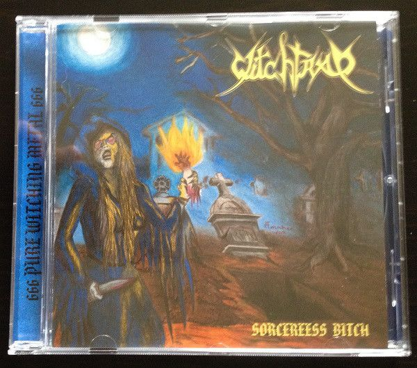 Witchtrap - Sorceress Bitch (CD, Album) at Discogs