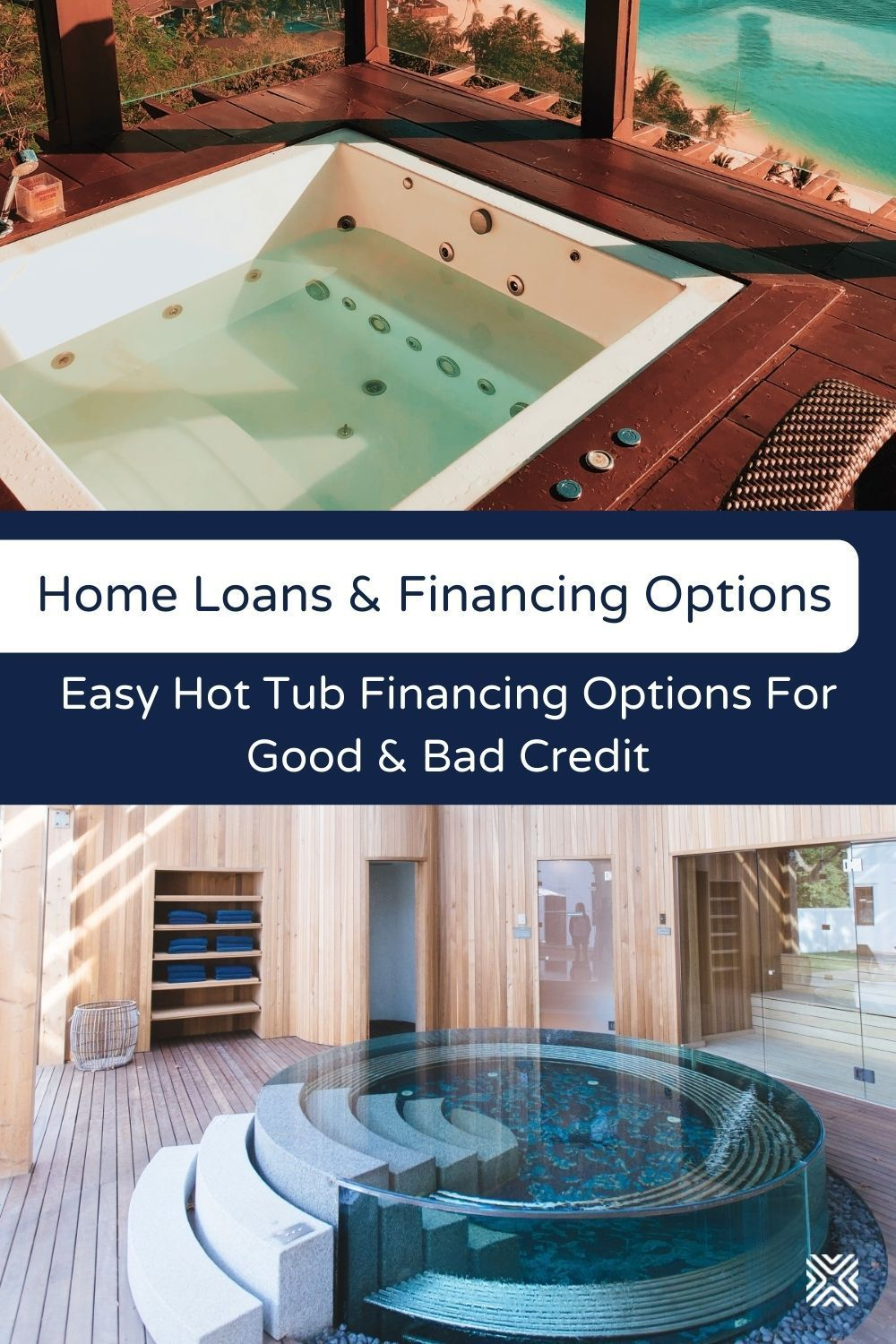 Hot Tub Financing Options For Good And Bad Credit Hot Tub Best Home Loans Relaxing Backyard