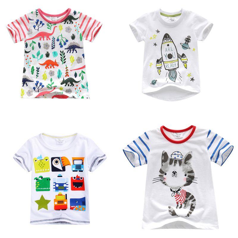 c7f8fe1a3edd 2017 New Fashion Brand Boys T-shirt Kids Tops Designer Toddler Baby Boys T  Shirts