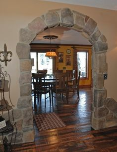 Archway Decor On Pinterest Wall Niches Shabby Chic And Rustic Stone Doorway Archway Decor House Design