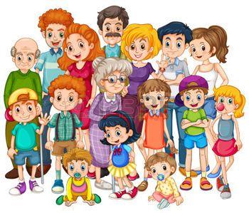 Mamie Enfant Banque D Images Vecteurs Et Illustrations Libres De Droits Image Famille Illustration De La Famille Theme Famille