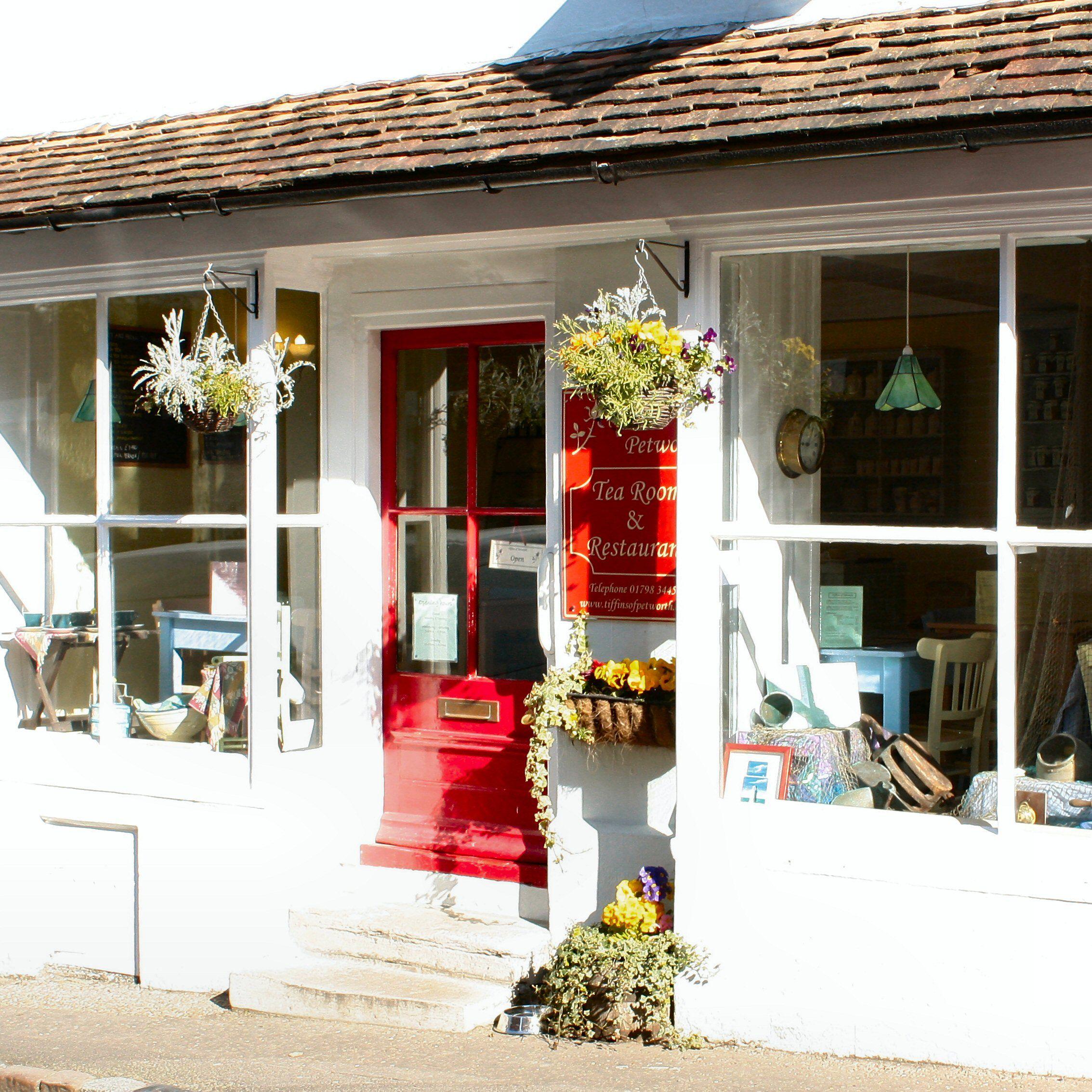 Tiffins Tea Room  High Street
