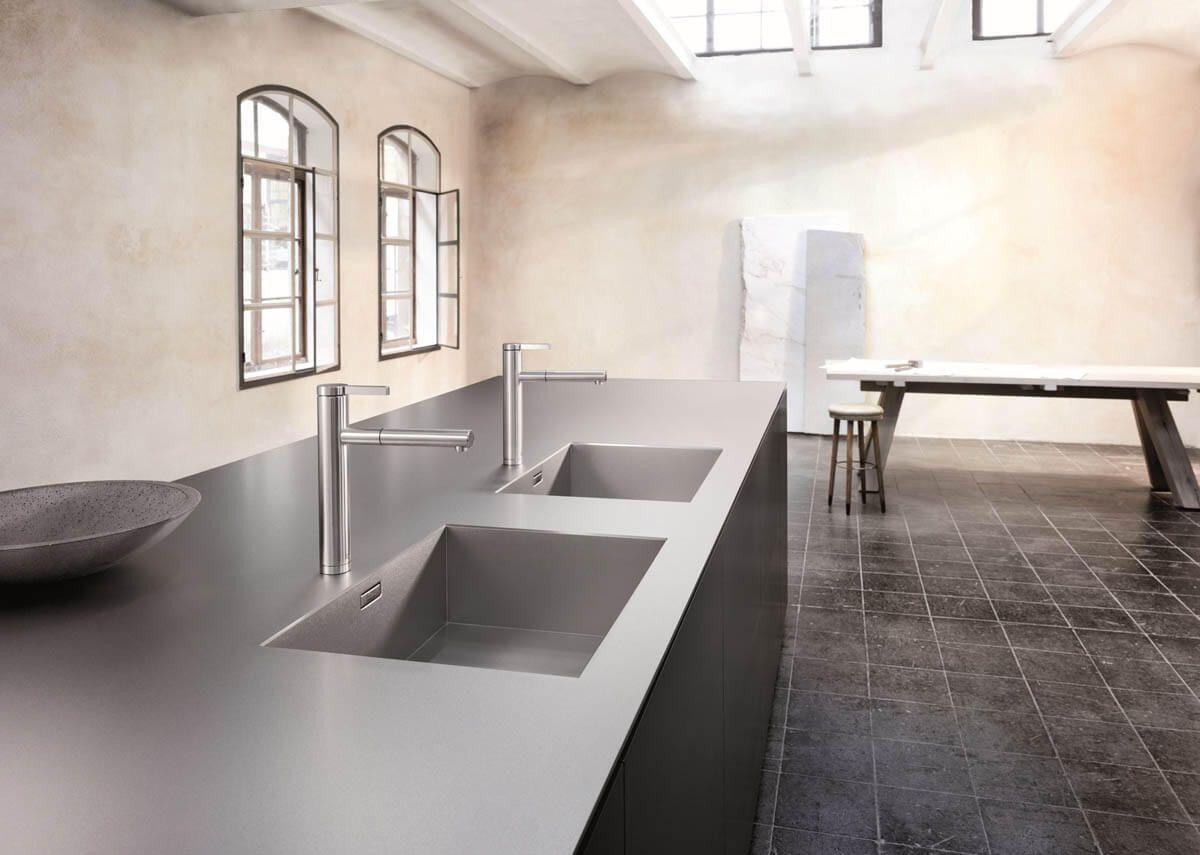 Spule Und Arbeitsplatte Aus Einem Guss Material Vorteile Nachteile Reinigung Bilder Tipps Fur Die Kuchenplanung Kuchenfinder 2020