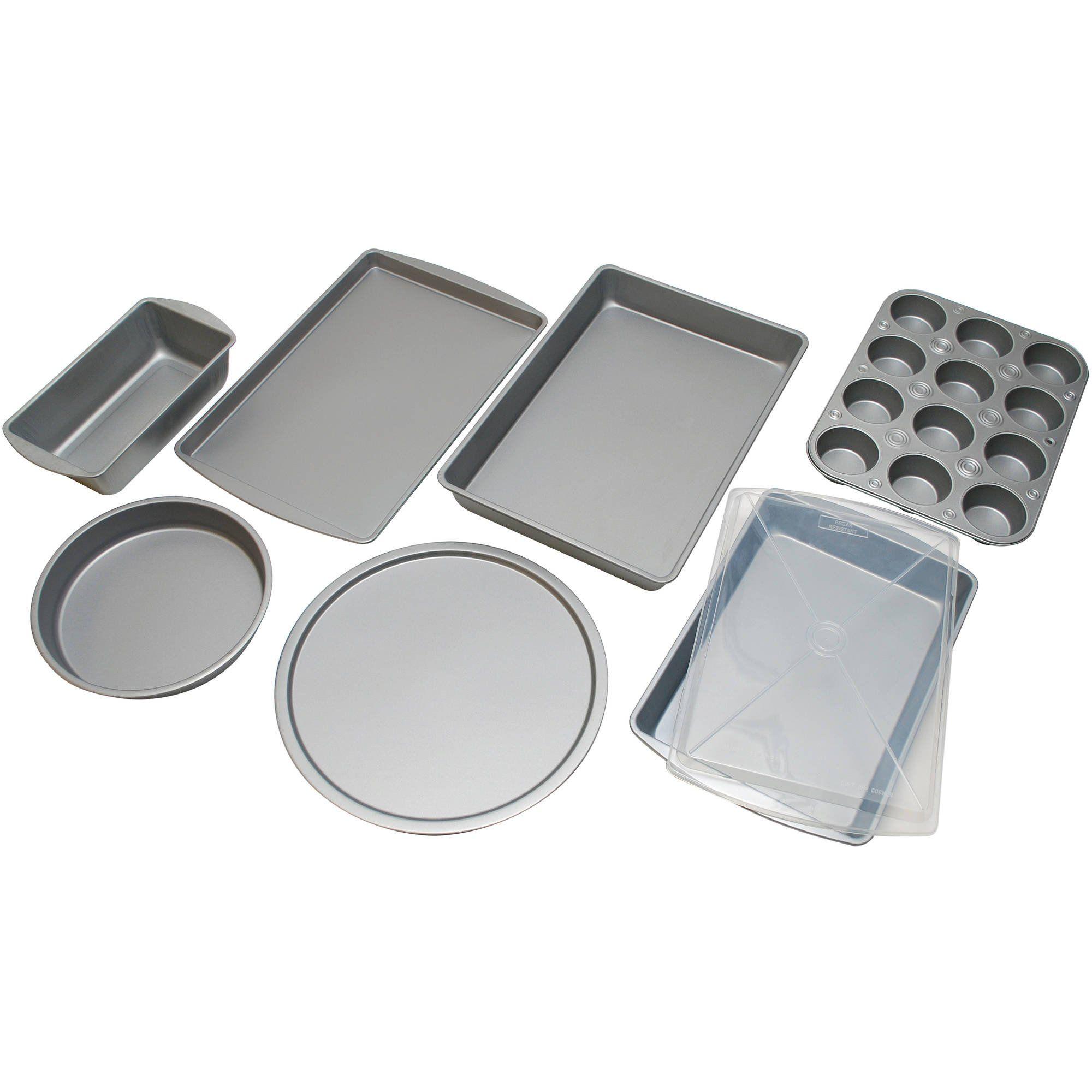 8pieceall the essentials bakeware set grey read more