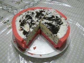 Zara ♥ Baking: KEK AIS KRIM OREO