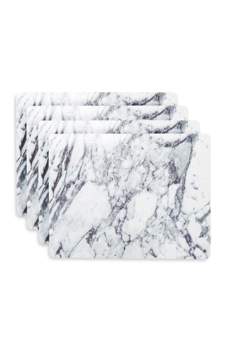 Primark Marmeren Placemats Yellow Living Room Diy Marble Placemats