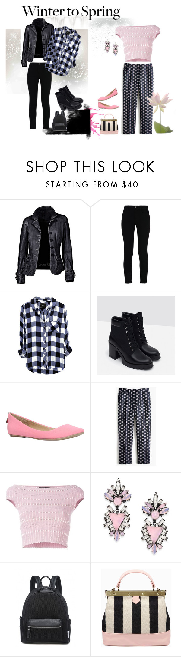 """""""#wintertospring"""" by mimiodell ❤ liked on Polyvore featuring STELLA McCARTNEY, Zara, Call it SPRING, J.Crew, Alexander McQueen and Erickson Beamon"""