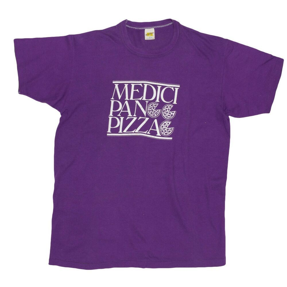 9738a275faba1 1970 s Shirt Vintage Chicago Pizza Medici On 57th Small Purple Russell  Athletic  RussellAthletic  GraphicTee