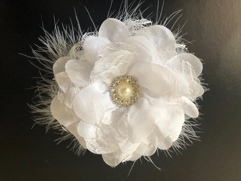 peach coral black feather fascinator comb hair clip headpiece wedding party
