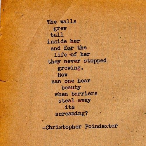 """Blossom:Blossom in me"" series poem #32 Christopher Poindexter"