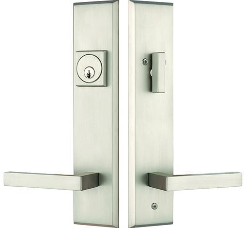 Contemporary Entry Door Handleset Exterior Door Hardware Contemporary Entry Doors Front Door Hardware