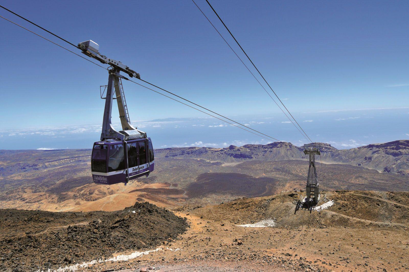 Teleférico. Parque nacional del Teide 11
