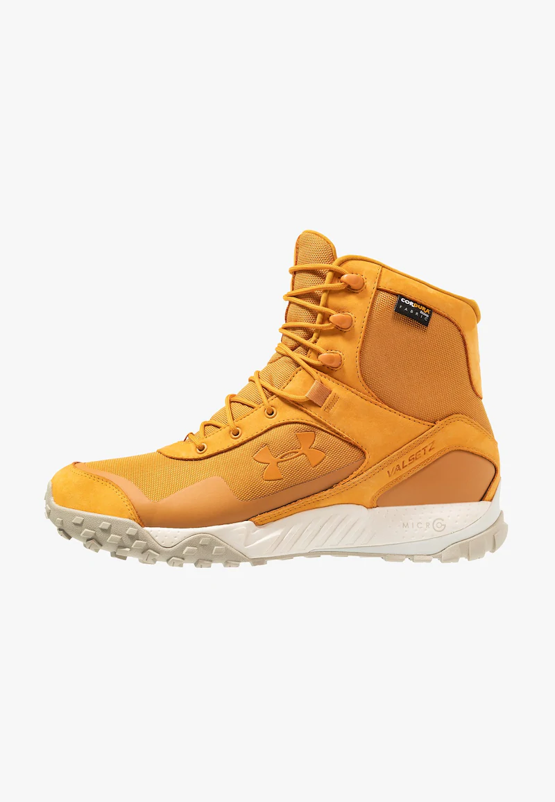 Under Armour Valsetz Obuwie Hikingowe Spiced Gold Summit White Zalando Pl Puma Fierce Sneaker High Top Sneakers Top Sneakers