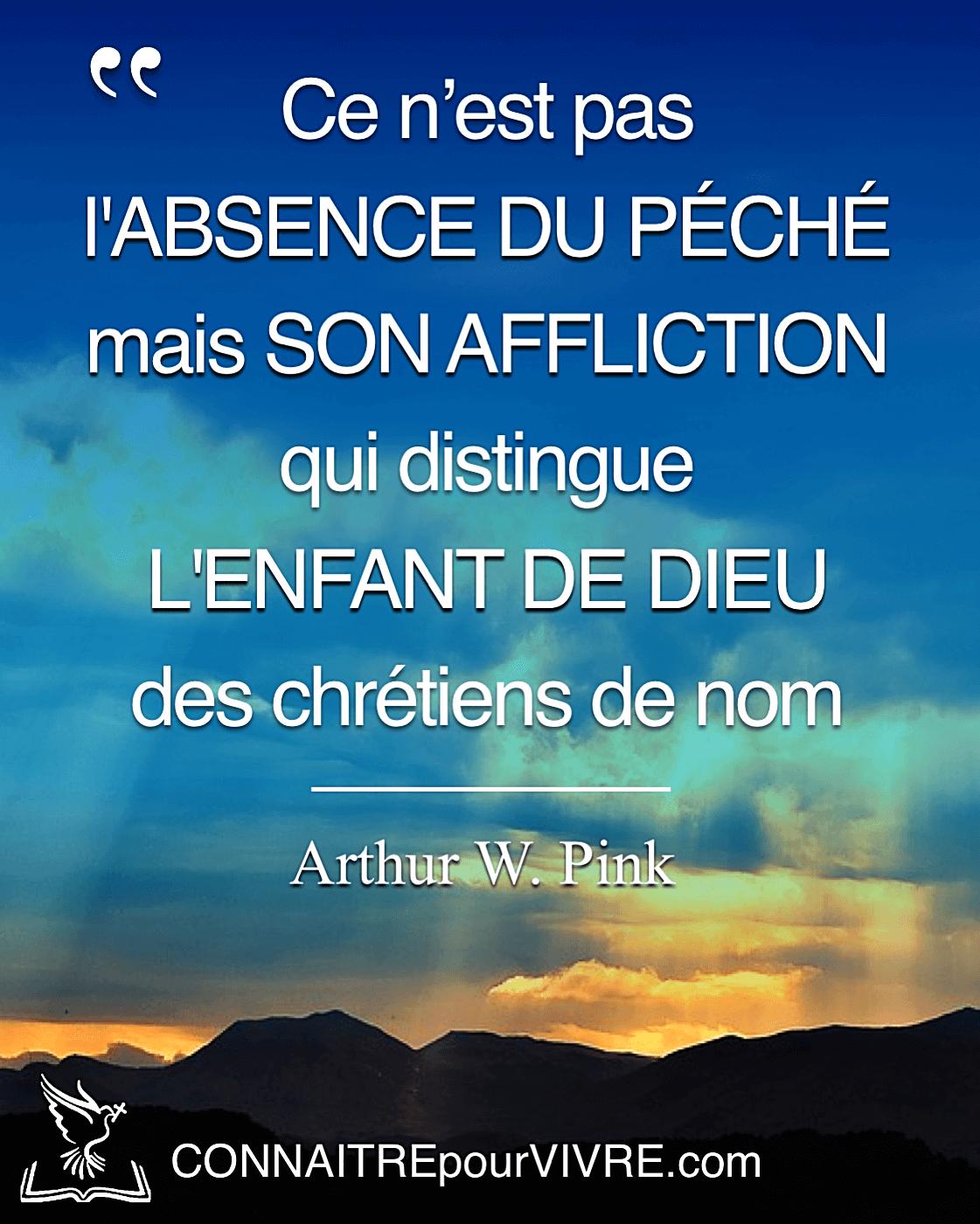 Citation Chrétienne Arthur W Pink