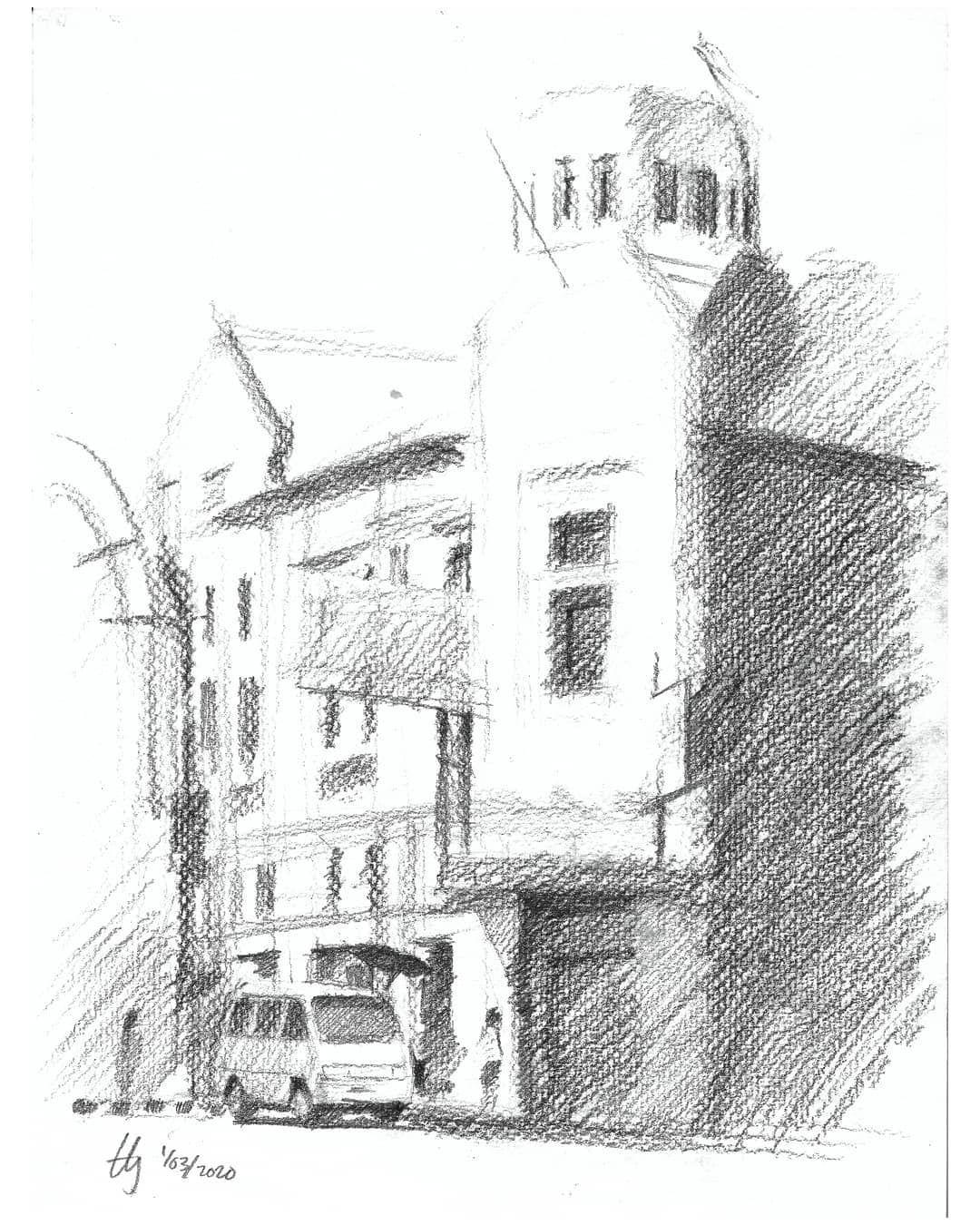 Di Sudut Jalan Banceuy Abc Ini Selalu Bergantian Nongkrong Mobil T120 Carry Zebra Sketsa Bersama Bandungsketchwalk Bsw77 Sketsa Zebra Drawing