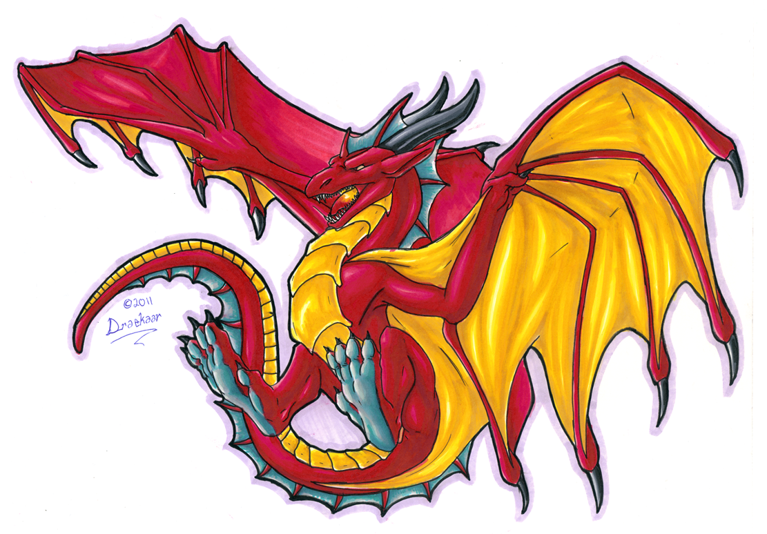 dragon print 2 colour by draconigenae666deviantartcom on deviantart - Pictures To Print And Colour