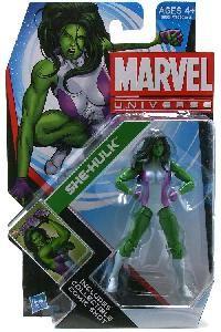 Marvel Universe - 4 - She-Hulk Action Figure
