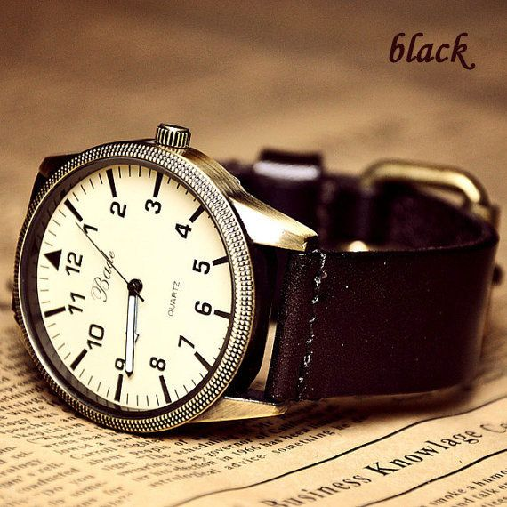 fashion roman big dial leather belt retro watch just $23.90 only in ByGoods.com