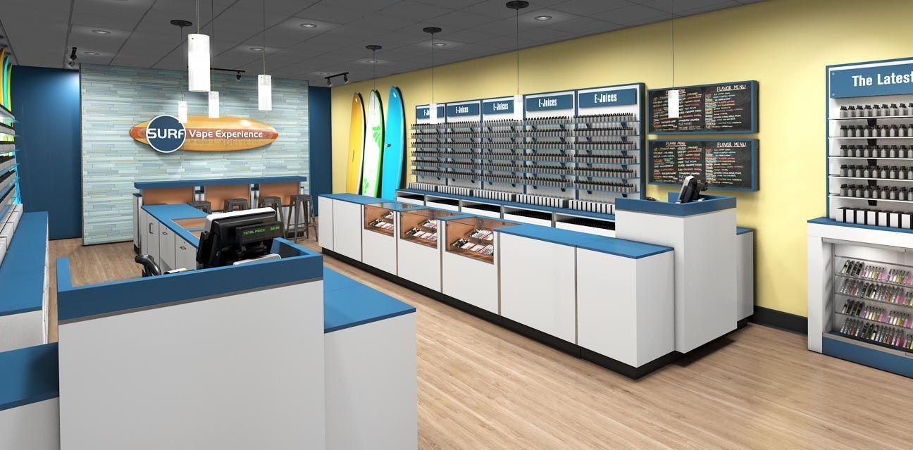 Vape Store Design Fixtures and Display Ideas vaporstore